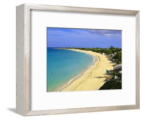 Long Beach, St. Martin, Netherlands Antilles, Caribbean-Michael DeFreitas-Framed Art Print