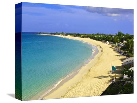Long Beach, St. Martin, Netherlands Antilles, Caribbean-Michael DeFreitas-Stretched Canvas Print