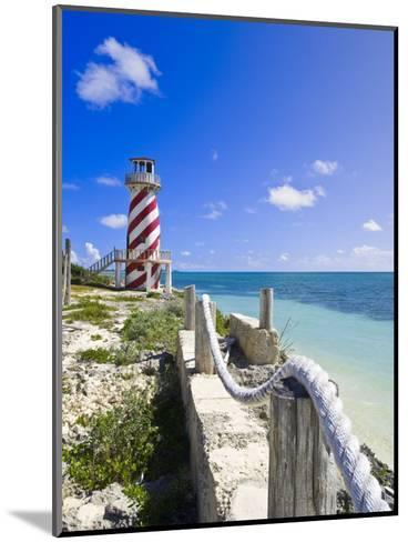 High Rock Lighthouse at High Rock, Grand Bahama, the Bahamas, West Indies, Central America-Michael DeFreitas-Mounted Photographic Print