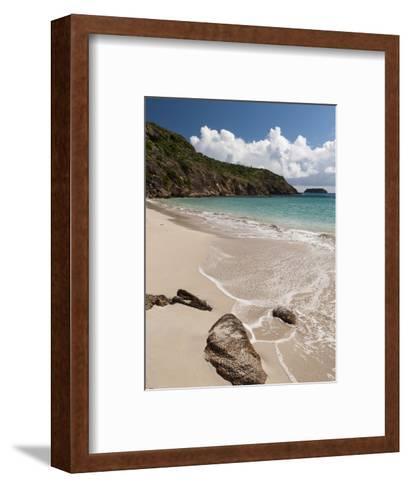 Anse de Grande Saline Beach, St. Barthelemy, West Indies, Caribbean, Central America-Sergio Pitamitz-Framed Art Print