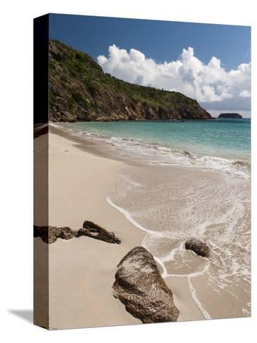 Anse de Grande Saline Beach, St. Barthelemy, West Indies, Caribbean, Central America-Sergio Pitamitz-Stretched Canvas Print