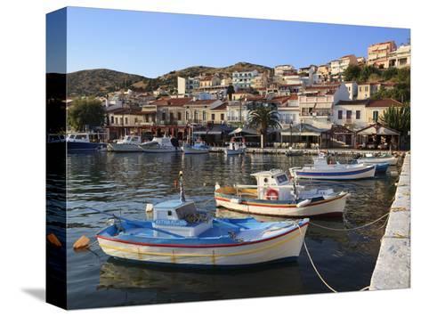 Harbour View, Pythagorion, Samos, Aegean Islands, Greece-Stuart Black-Stretched Canvas Print