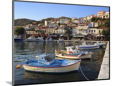 Harbour View, Pythagorion, Samos, Aegean Islands, Greece-Stuart Black-Mounted Photographic Print