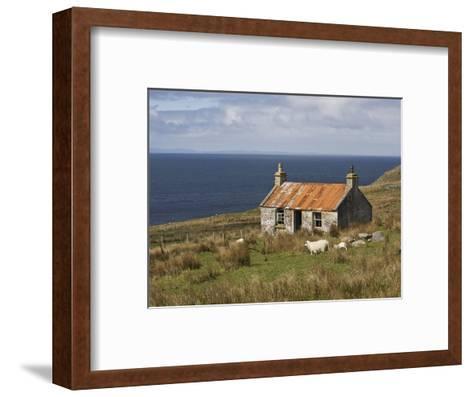 Abandoned Croft, Wester Ross, Highlands, Scotland, United Kingdom, Europe-Jean Brooks-Framed Art Print