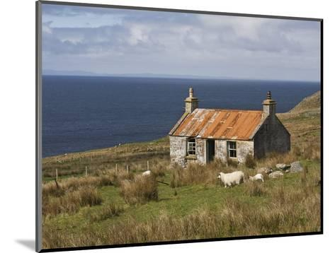 Abandoned Croft, Wester Ross, Highlands, Scotland, United Kingdom, Europe-Jean Brooks-Mounted Photographic Print