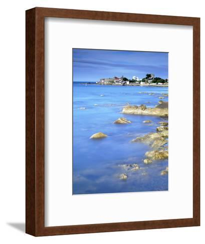 Sandycove, with James Joyce Tower Museum, Dublin, County Dublin, Republic of Ireland, Europe-Jeremy Lightfoot-Framed Art Print