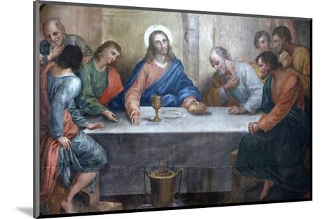 Last Supper Painting in Our Lady of Bonfim Church, Salvador, Bahia, Brazil, South America-Godong-Mounted Photographic Print