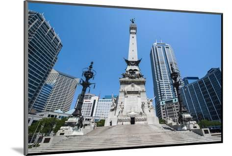Soldiers' and Sailors' Monument, Indianapolis, Indiana, United States of America, North America-Michael Runkel-Mounted Photographic Print
