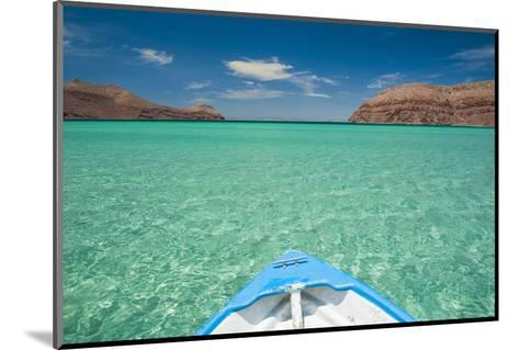 Little Boat in the Turquoise Waters at Isla Espiritu Santo, Baja California, Mexico, North America-Michael Runkel-Mounted Photographic Print