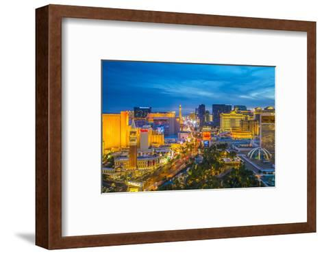 The Strip, Las Vegas, Nevada, United States of America, North America-Alan Copson-Framed Art Print