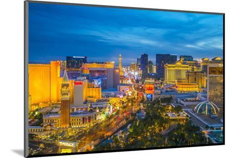 The Strip, Las Vegas, Nevada, United States of America, North America-Alan Copson-Mounted Photographic Print