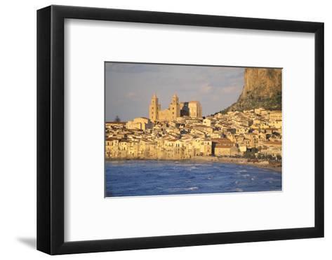 Cefalu, Palermo District, Sicily, Italy, Mediterranean, Europe-Bruno Morandi-Framed Art Print