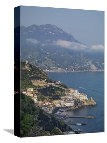 Amalfi Peninsula, Amalfi Coast, UNESCO World Heritage Site, Campania, Italy, Mediterranean, Europe-Angelo Cavalli-Stretched Canvas Print