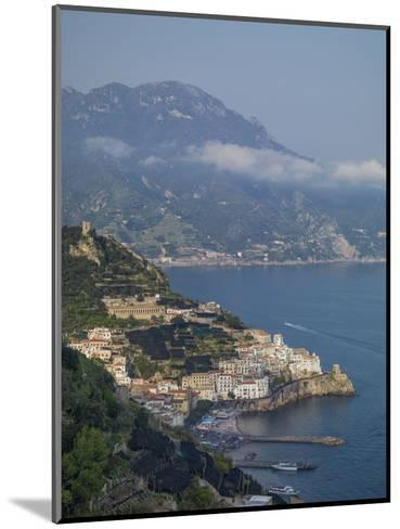 Amalfi Peninsula, Amalfi Coast, UNESCO World Heritage Site, Campania, Italy, Mediterranean, Europe-Angelo Cavalli-Mounted Photographic Print