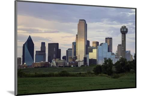 Dallas City Skyline and the Reunion Tower, Texas, United States of America, North America-Gavin-Mounted Photographic Print