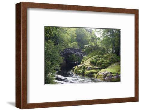 Fly Fishing on the River Shiel, Near Acharacle, Invernesshire, Scotland, United Kingdom, Europe-Duncan Maxwell-Framed Art Print