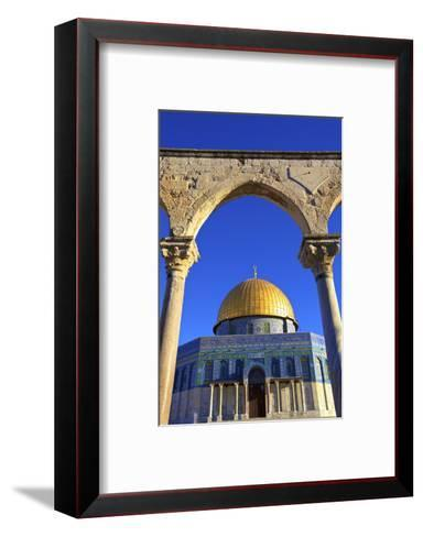 The Dome of the Rock, Temple Mount, UNESCO World Heritage Site, Jerusalem, Israel, Middle East-Neil Farrin-Framed Art Print