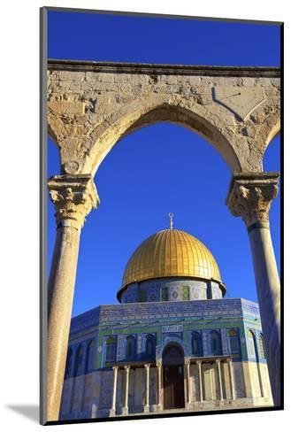 The Dome of the Rock, Temple Mount, UNESCO World Heritage Site, Jerusalem, Israel, Middle East-Neil Farrin-Mounted Photographic Print