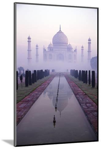 Taj Mahal at Dawn, UNESCO World Heritage Site, Agra, Uttar Pradesh, India, Asia-Peter Barritt-Mounted Photographic Print