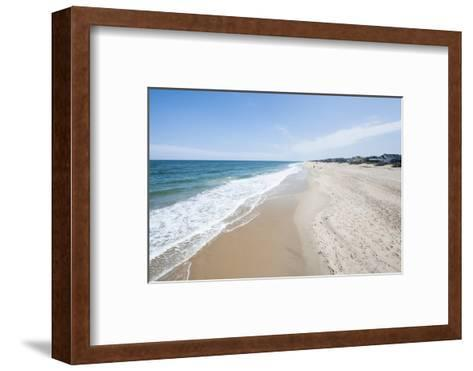 Beach at Nags Head, Outer Banks, North Carolina, United States of America, North America-Michael DeFreitas-Framed Art Print