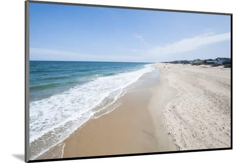 Beach at Nags Head, Outer Banks, North Carolina, United States of America, North America-Michael DeFreitas-Mounted Photographic Print