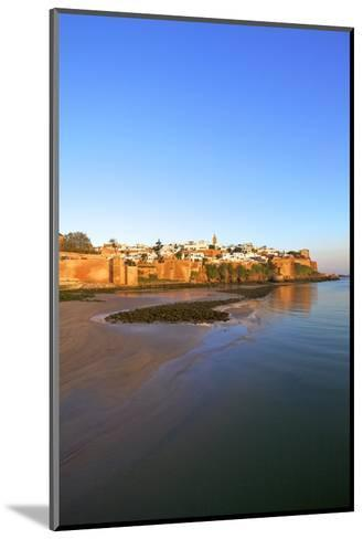 Oudaia Kasbah and Coastline, Rabat, Morocco, North Africa, Africa-Neil Farrin-Mounted Photographic Print