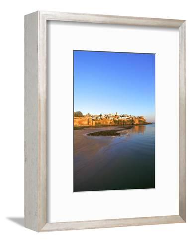 Oudaia Kasbah and Coastline, Rabat, Morocco, North Africa, Africa-Neil Farrin-Framed Art Print