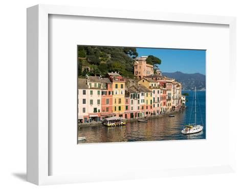 Portofino, Genova (Genoa), Liguria, Italy, Europe-Carlo Morucchio-Framed Art Print
