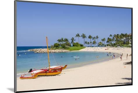 Ko Olina Beach, West Coast, Oahu, Hawaii, United States of America, Pacific-Michael DeFreitas-Mounted Photographic Print