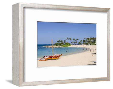 Ko Olina Beach, West Coast, Oahu, Hawaii, United States of America, Pacific-Michael DeFreitas-Framed Art Print