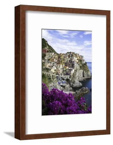 Manarola, Cinque Terre, UNESCO World Heritage Site, Liguria, Italy, Europe-Gavin Hellier-Framed Art Print