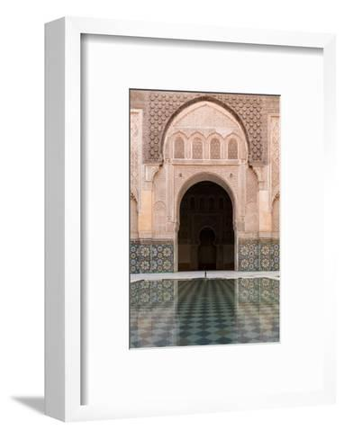 Reflections in the Courtyard Pool-Stephen Studd-Framed Art Print
