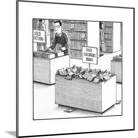 Used Children's Books - Cartoon-Harry Bliss-Mounted Premium Giclee Print