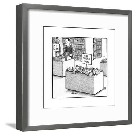Used Children's Books - Cartoon-Harry Bliss-Framed Art Print