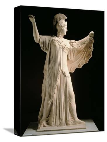 Athena Promachos (Athena), 1st Century, Marble, Full Relief--Stretched Canvas Print