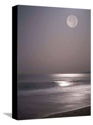 Full Moon-Mitch Diamond-Stretched Canvas Print