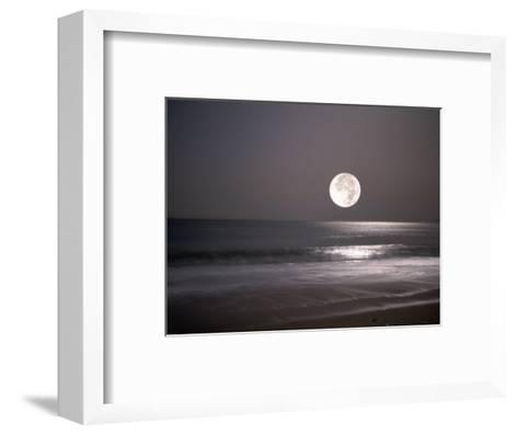 Full Moon-Mitch Diamond-Framed Art Print
