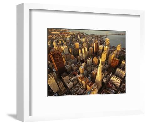 Downtown San Francisco, CA-Daniel McGarrah-Framed Art Print