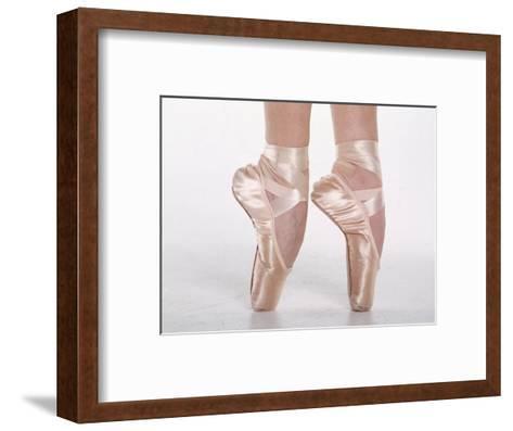 Feet of Dancing Ballerina-Bill Keefrey-Framed Art Print