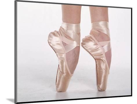 Feet of Dancing Ballerina-Bill Keefrey-Mounted Photographic Print