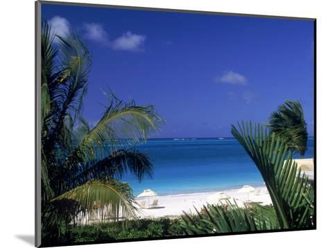 Tropical Beach, Turks and Caicos Islands-Timothy O'Keefe-Mounted Photographic Print