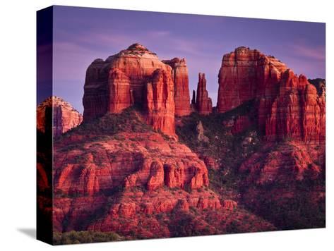 Cathedral Rock of Sedona, Arizona-Mike Cavaroc-Stretched Canvas Print