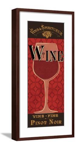 Red Label III-Pela Design-Framed Art Print