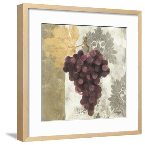 Acanthus and Paisley with Grapes I-Albena Hristova-Framed Art Print