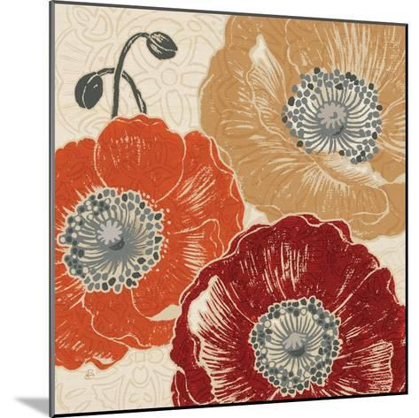 A Poppys Touch III-Daphne Brissonnet-Mounted Art Print