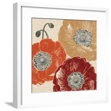 A Poppys Touch III-Daphne Brissonnet-Framed Art Print