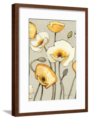Jaune Gris III Crop-Shirley Novak-Framed Art Print