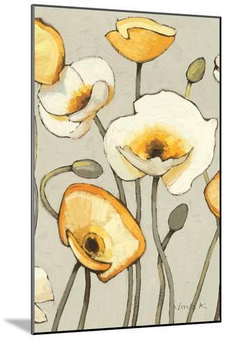Jaune Gris III Crop-Shirley Novak-Mounted Art Print