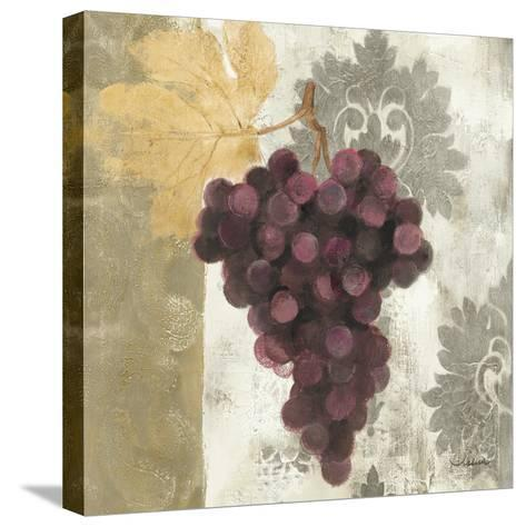 Acanthus and Paisley with Grapes I-Albena Hristova-Stretched Canvas Print