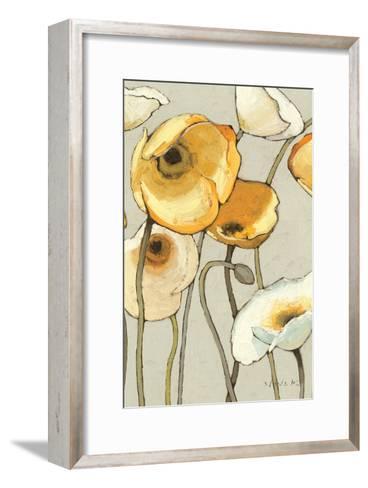 Jaune Gris II Crop-Shirley Novak-Framed Art Print